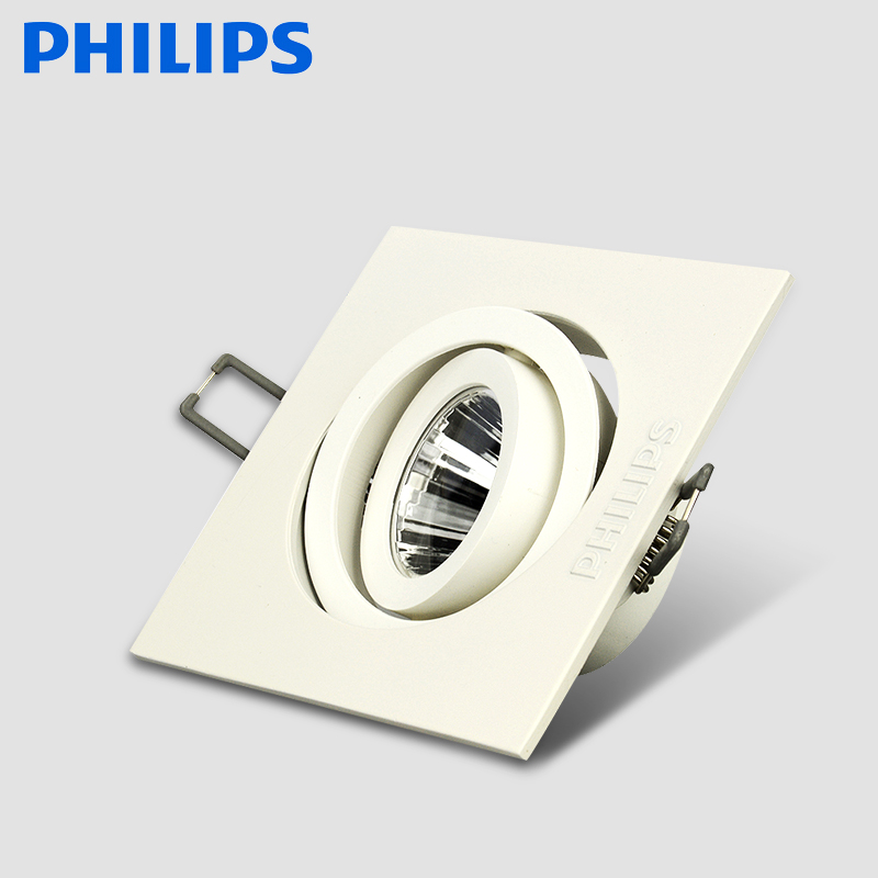 Den Led Philip Am Tran N Downlight M Trn Chiu Im Led
