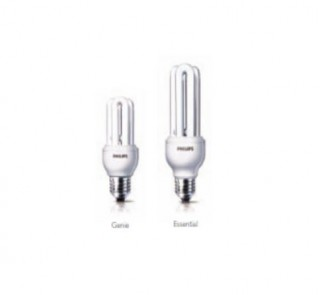 Bóng Compact Philips ESSENTIAL 8W WW E27 220-240V 1CT/12