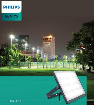 Đèn pha Led Philips Floodlight SmartBright BVP174 LED95/WW 100W WB GREY CE